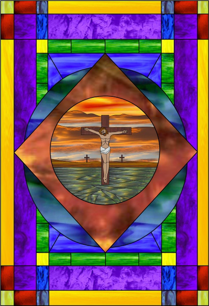 Stained glass made easy decorate your windows for Make your own stained glass window film